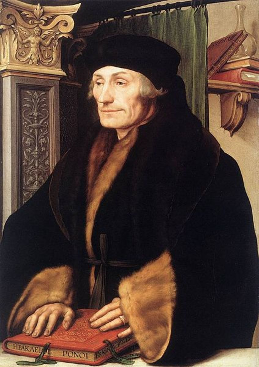 Desiderius Erasmus - friend and mentor to Thomas More