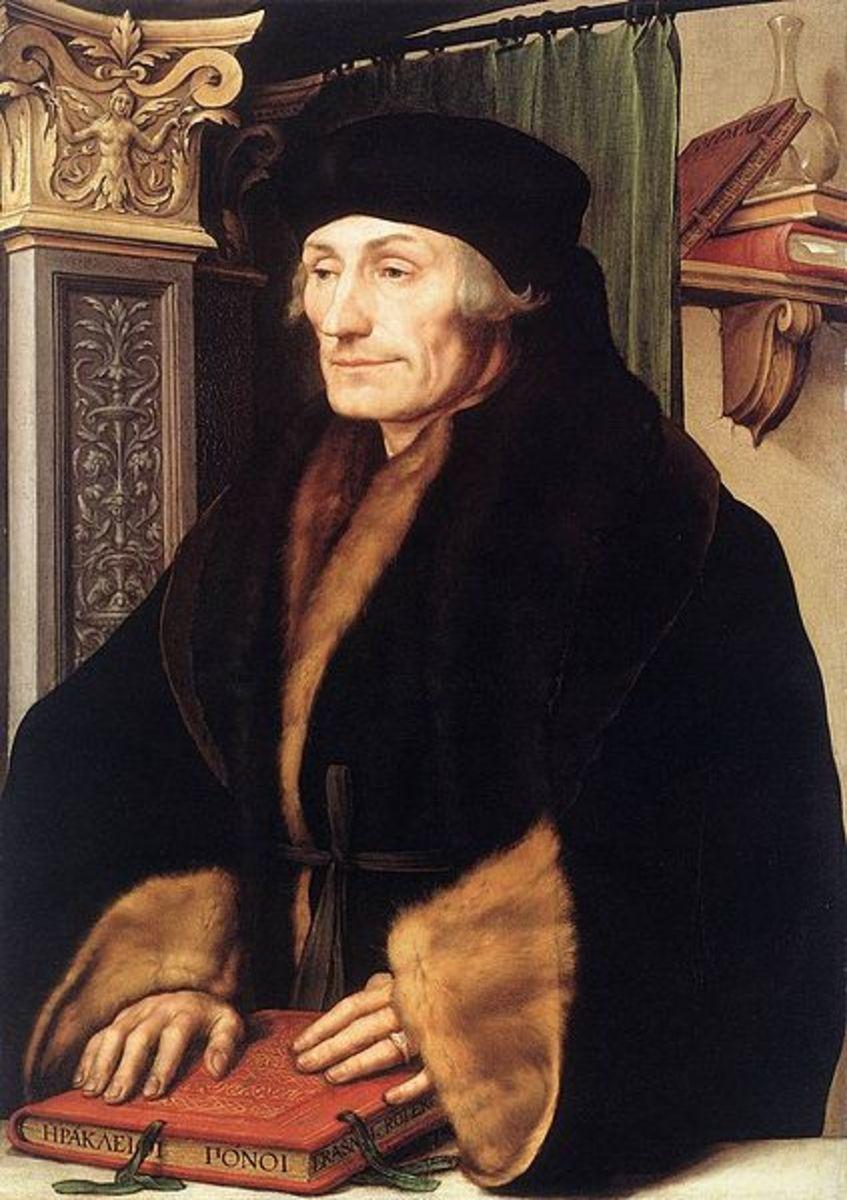 Desiderius Erasmus - friend and mentor to Thomas More