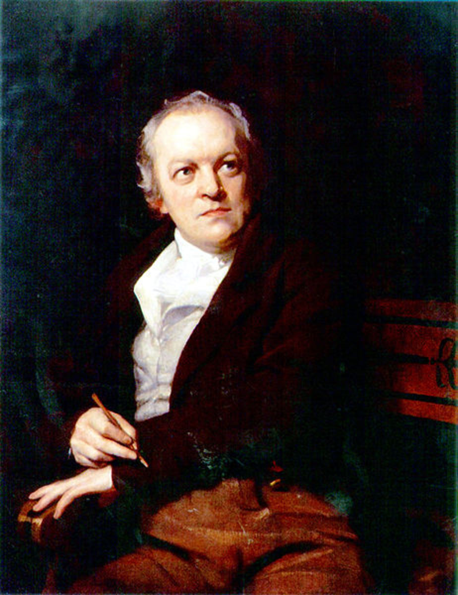 William Blake painting by Thomas Phillips 1807