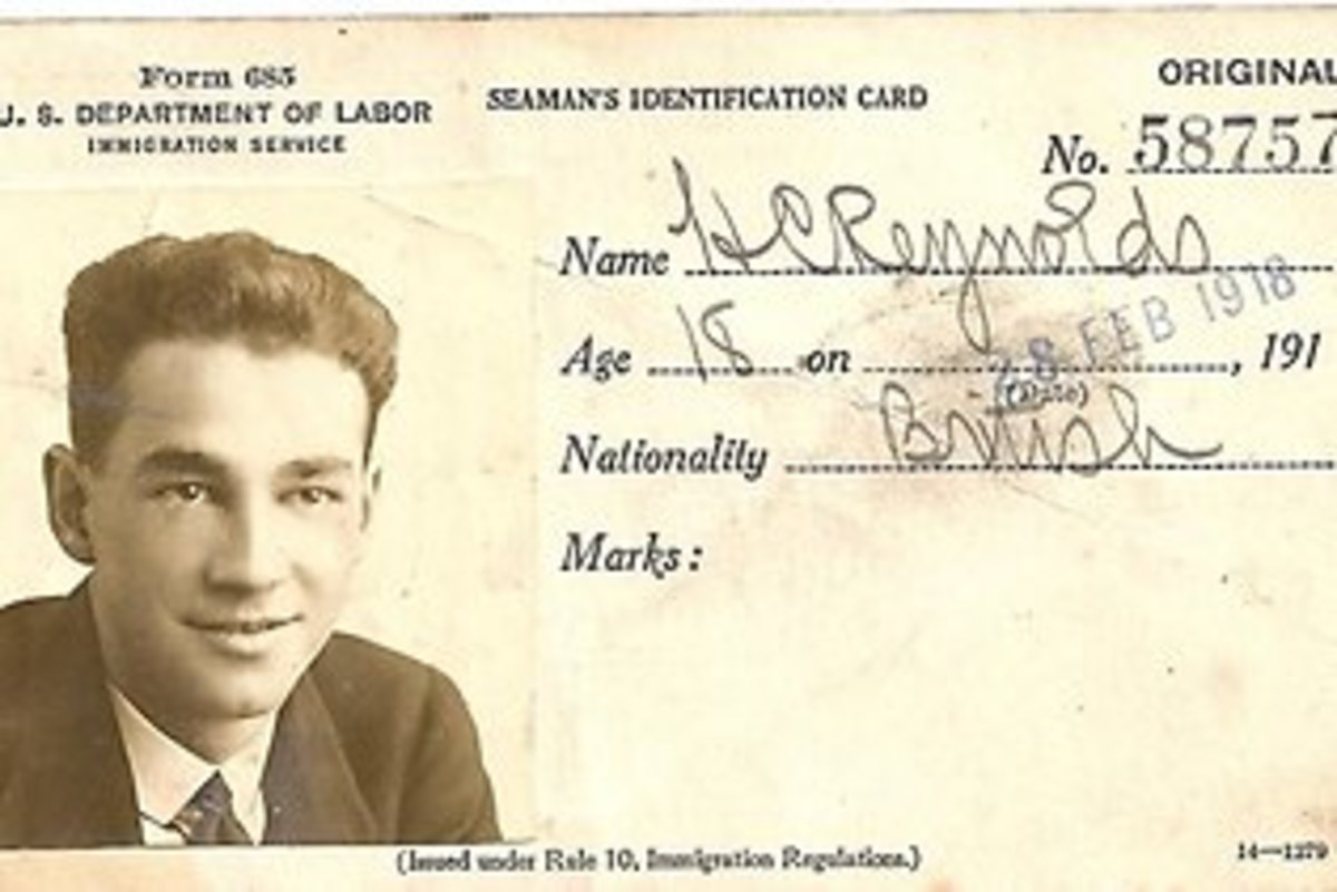 H. C. Reynold's ID card, which may be linked to the Somerton Man