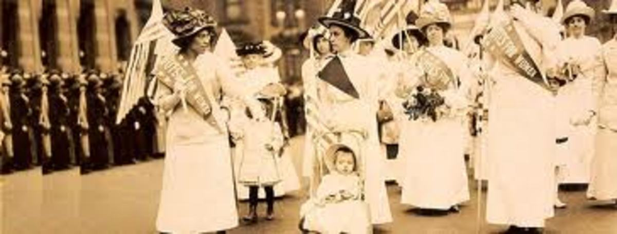 Women's Suffrage Parade New York 1912