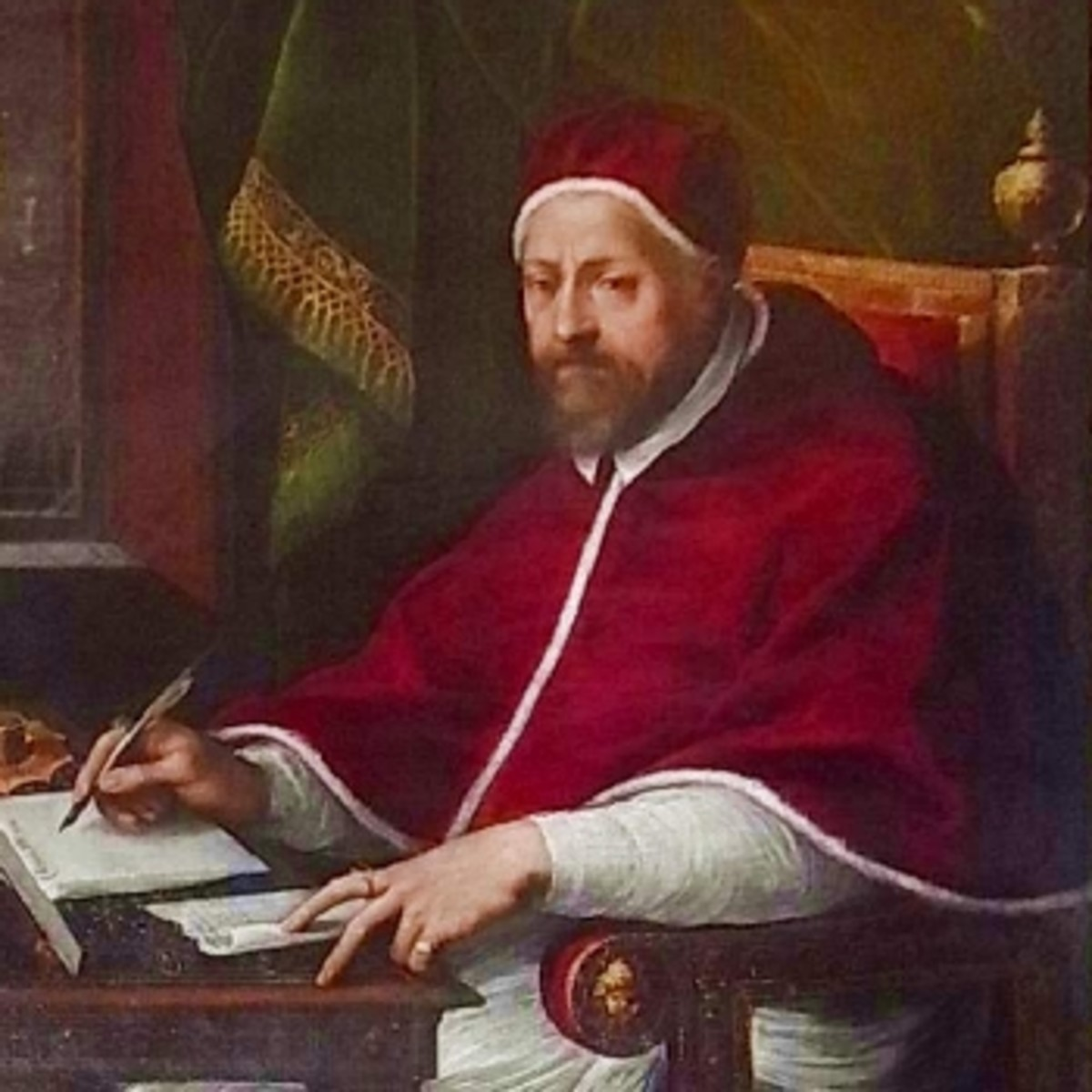 Portrait of Pope Clement VIII by an unknown artist
