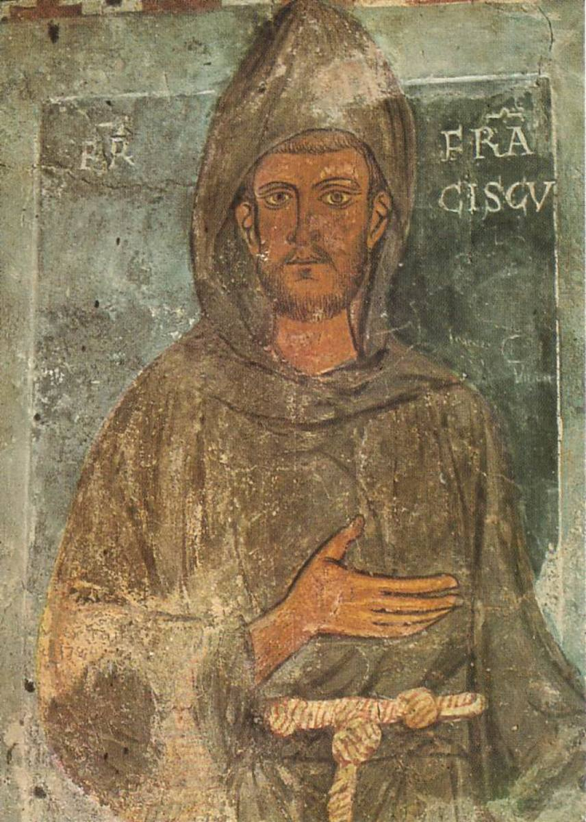 Oldest known depiction of St. Francis of Assisi