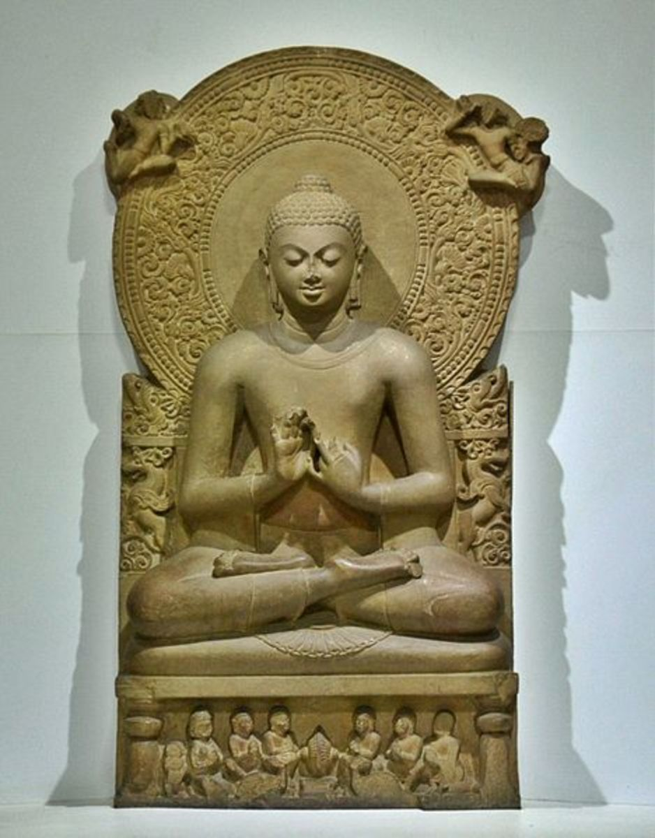 Sculpture of the Buddha