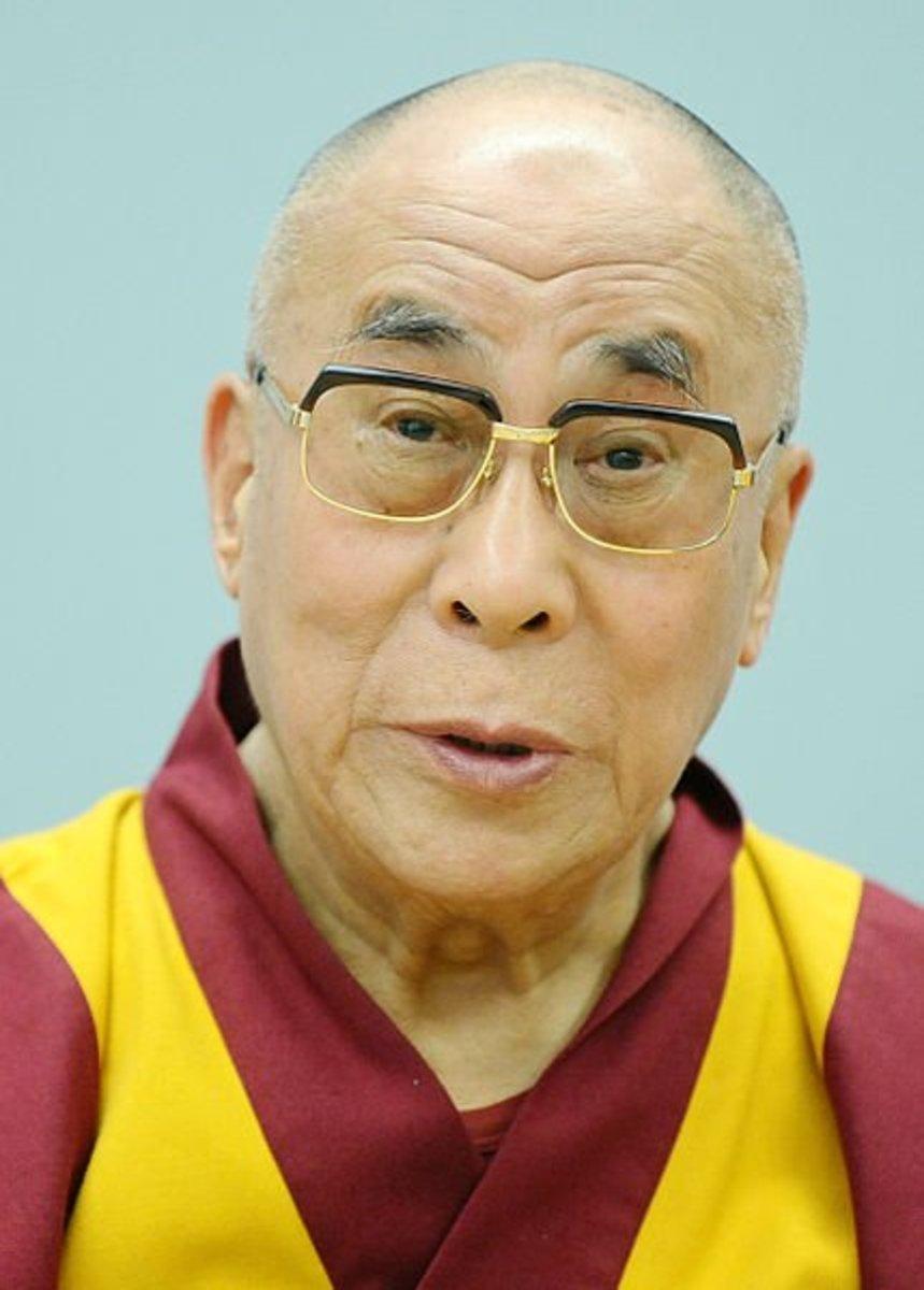Photo of the Fourteenth Dalai Lama