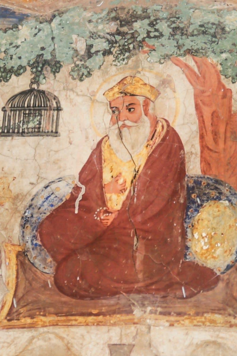 Mural of Guru Nanak
