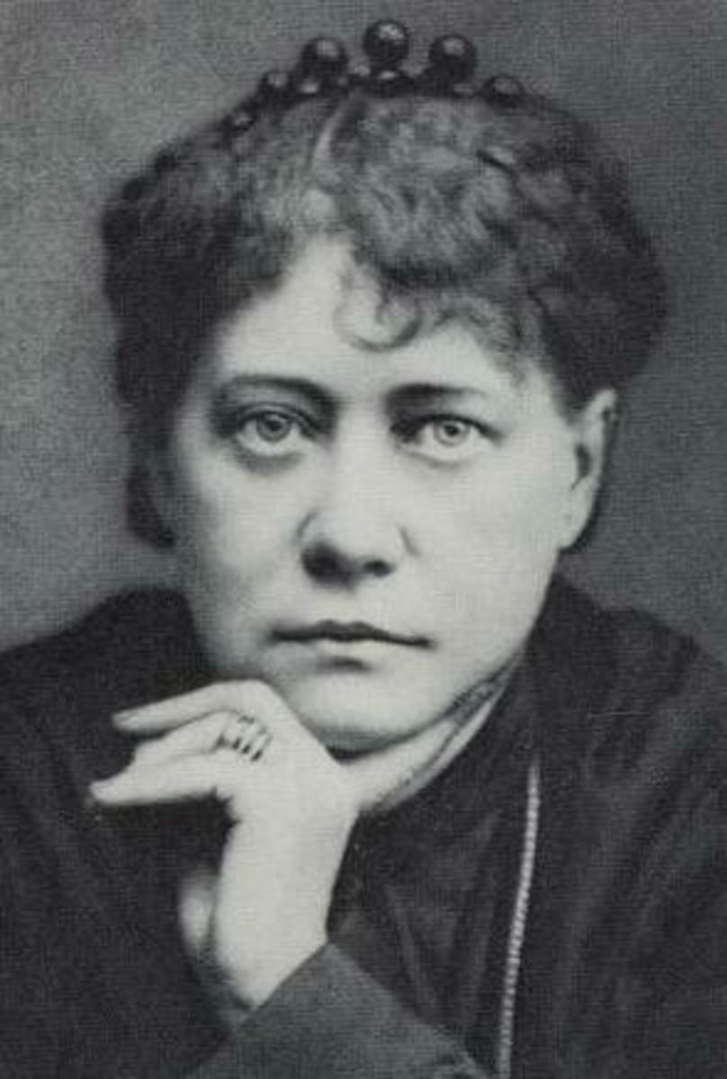 Photo of Madam Blavatsky