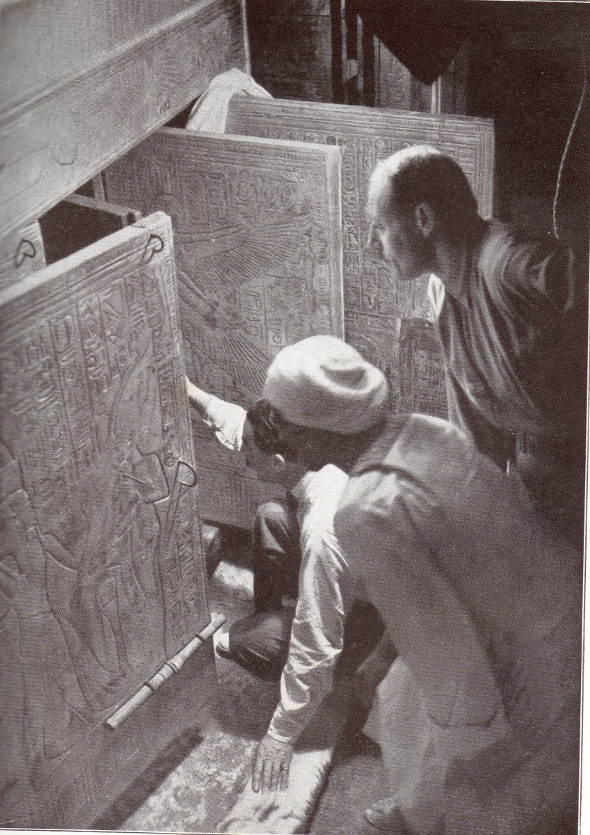 The moment King Tut's tomb was revealed.