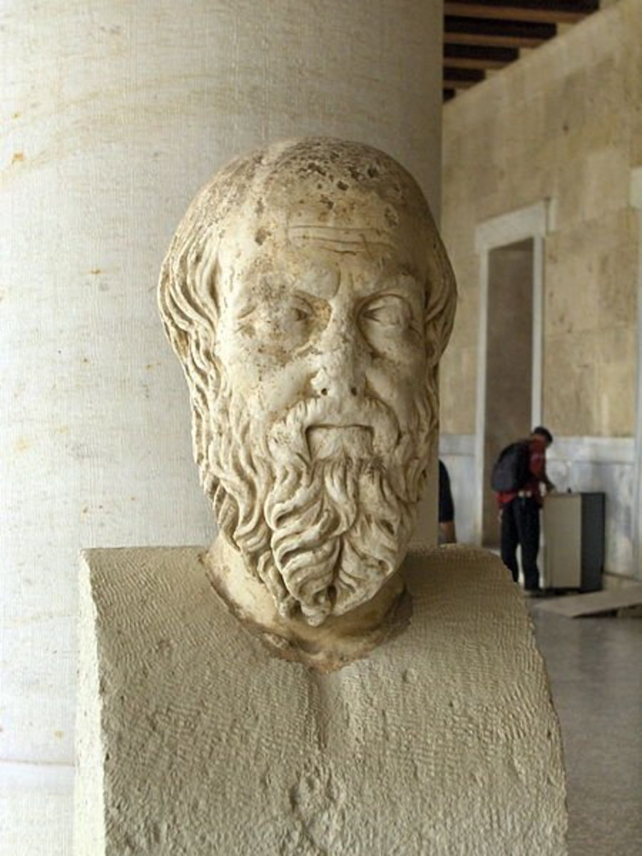 Herodotus was a Greek and one of the first true historians of the Ancient World.