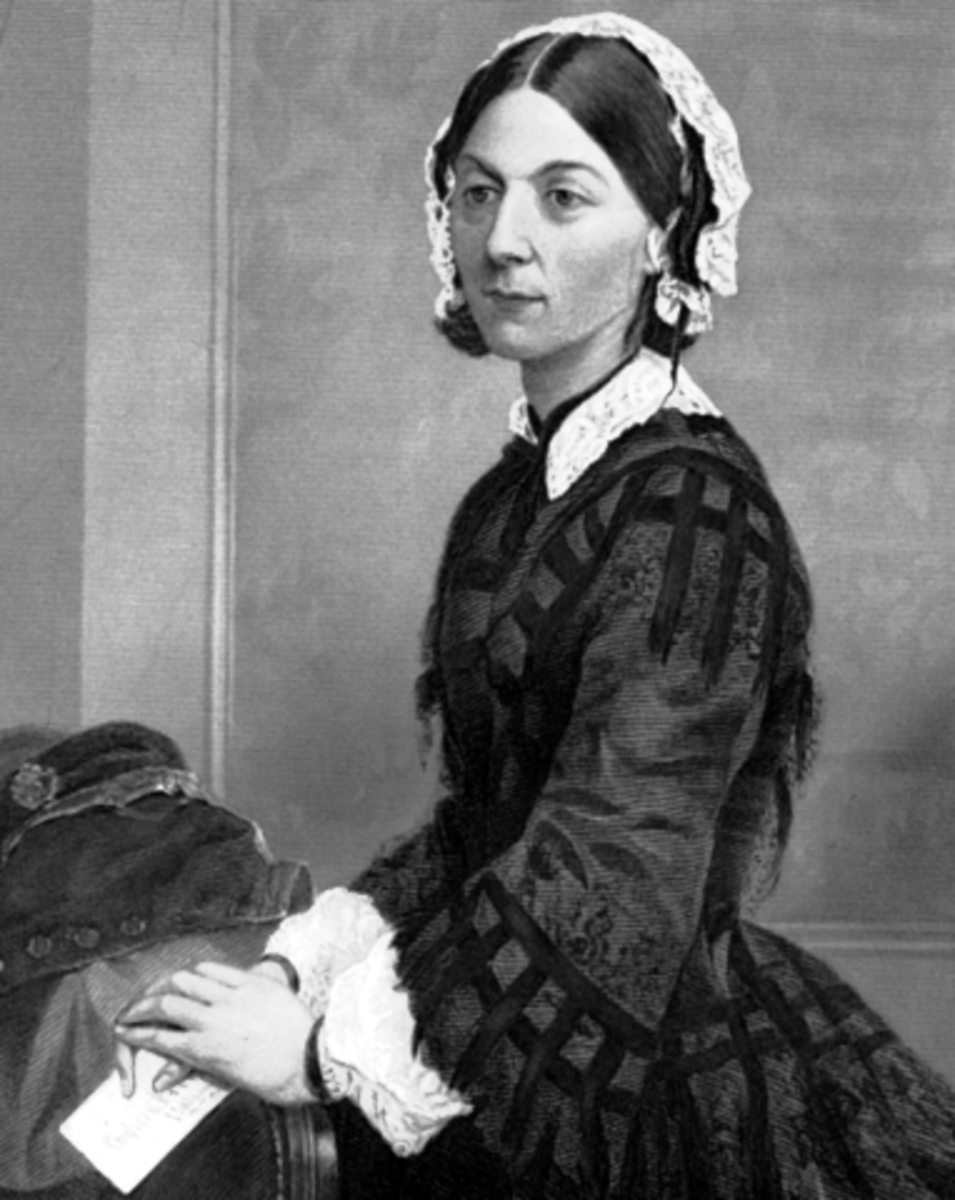 Oil Portrait of Florence Nightingale (1873), who was the founder of modern nursing and one heck of a cat lady.  Go Flo!