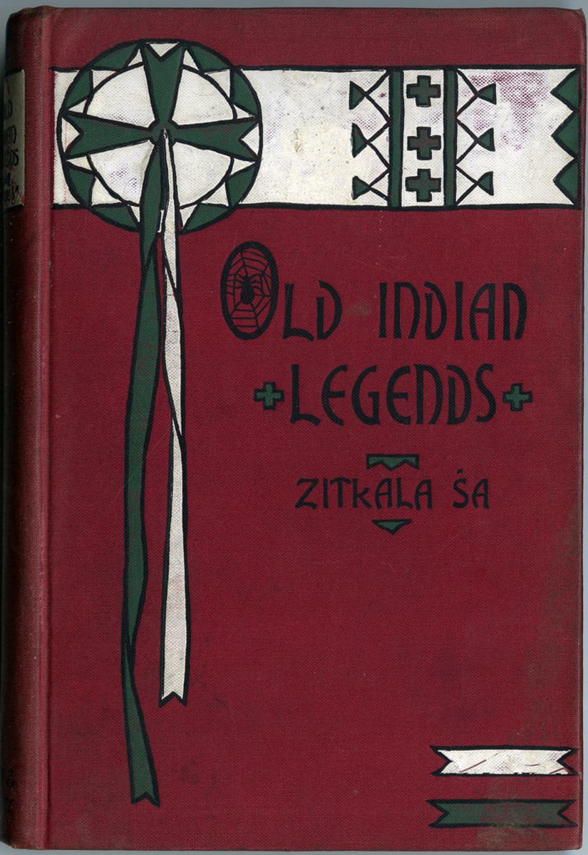Example of Various Works:  Old Indian Legends Zitkala Sa