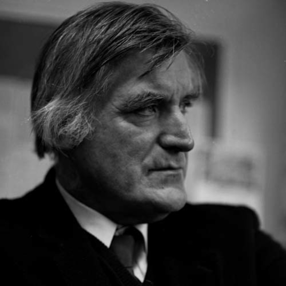 Ted Hughes in 1993