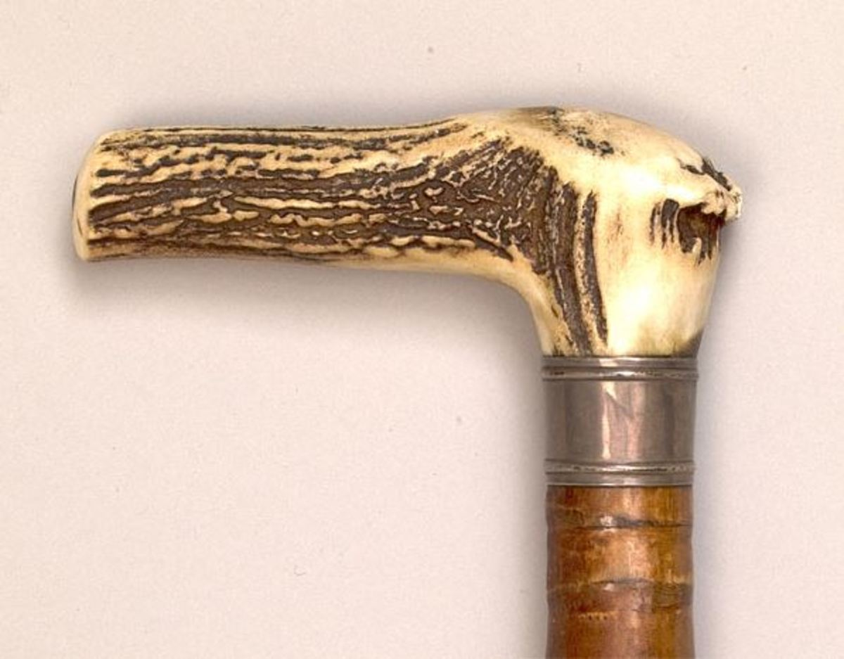 Cane given by Mary Todd Lincoln to Frederick Douglass after her husband's death