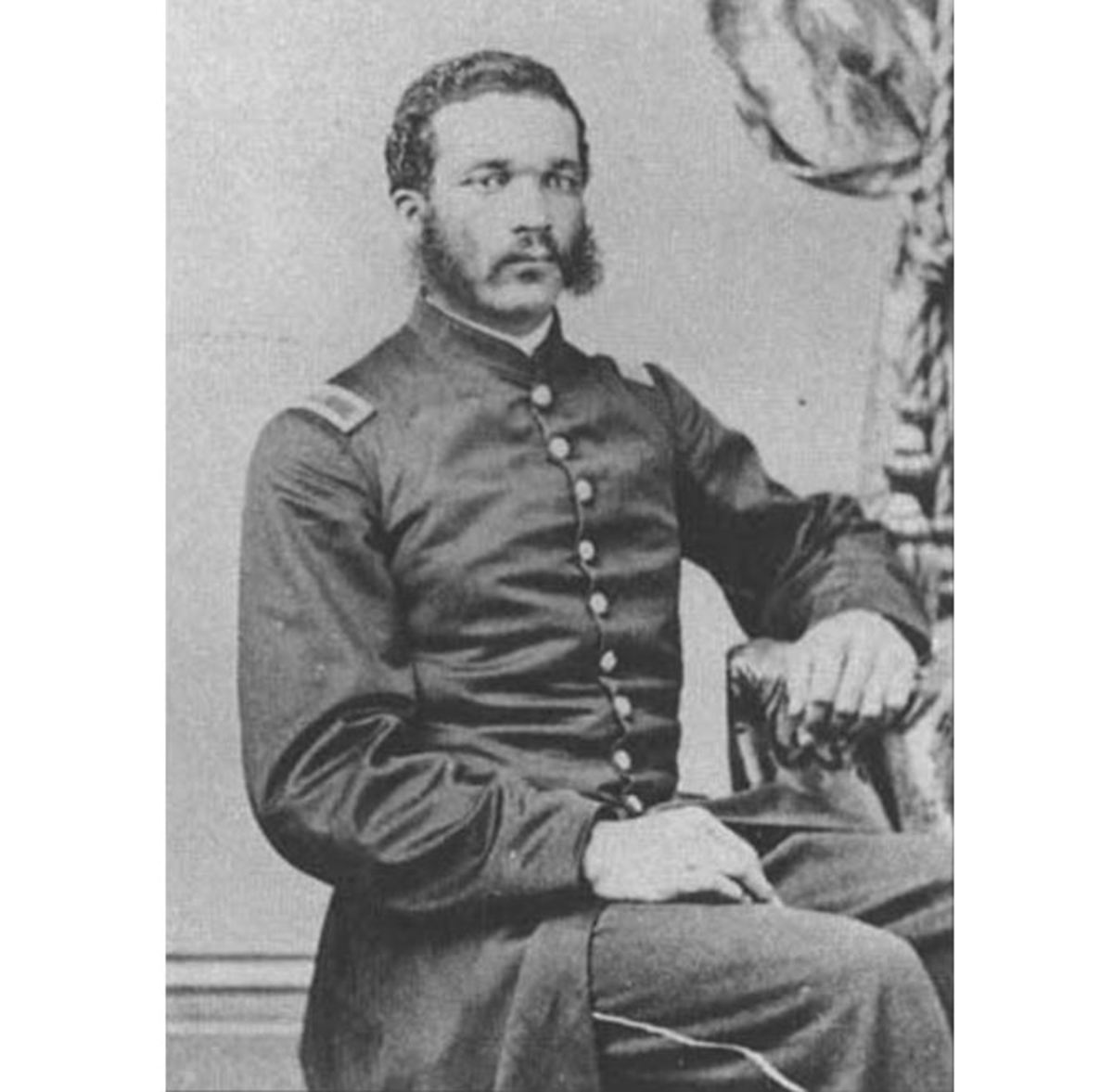 2nd Lt William H. Dupree of the 55th Massachusetts infantry regiment