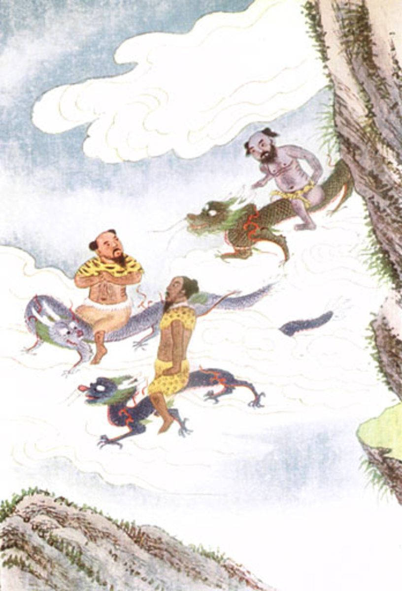 Dragon Gods, Myths and Legends of China