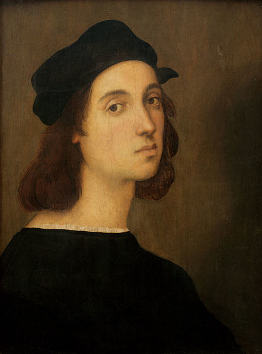 Raffaello Sanzio da Urbino, painter of the High Renaissance movement.