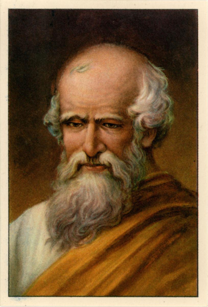 Archimedes, a famous Greek philosopher