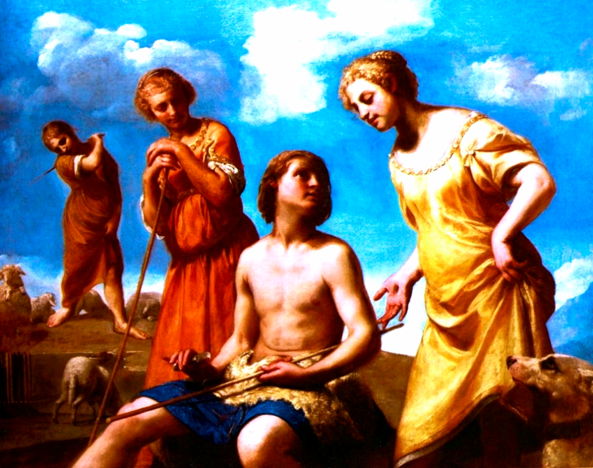 Genesis 29:20, Jacob had to work to be with Rachel