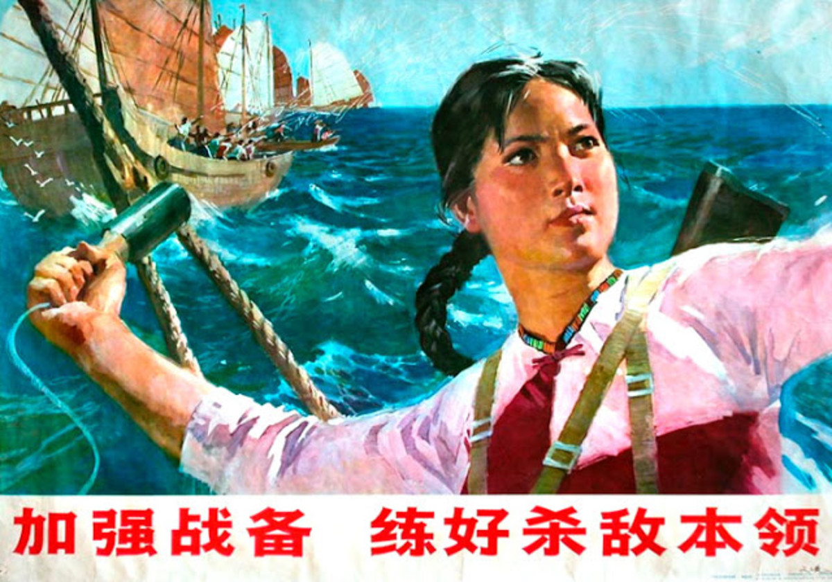 Communist propaganda on female pirates