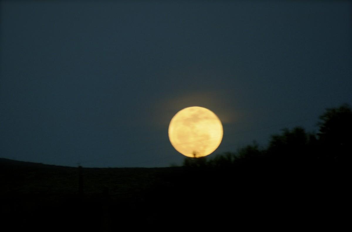 The benevolent moon.