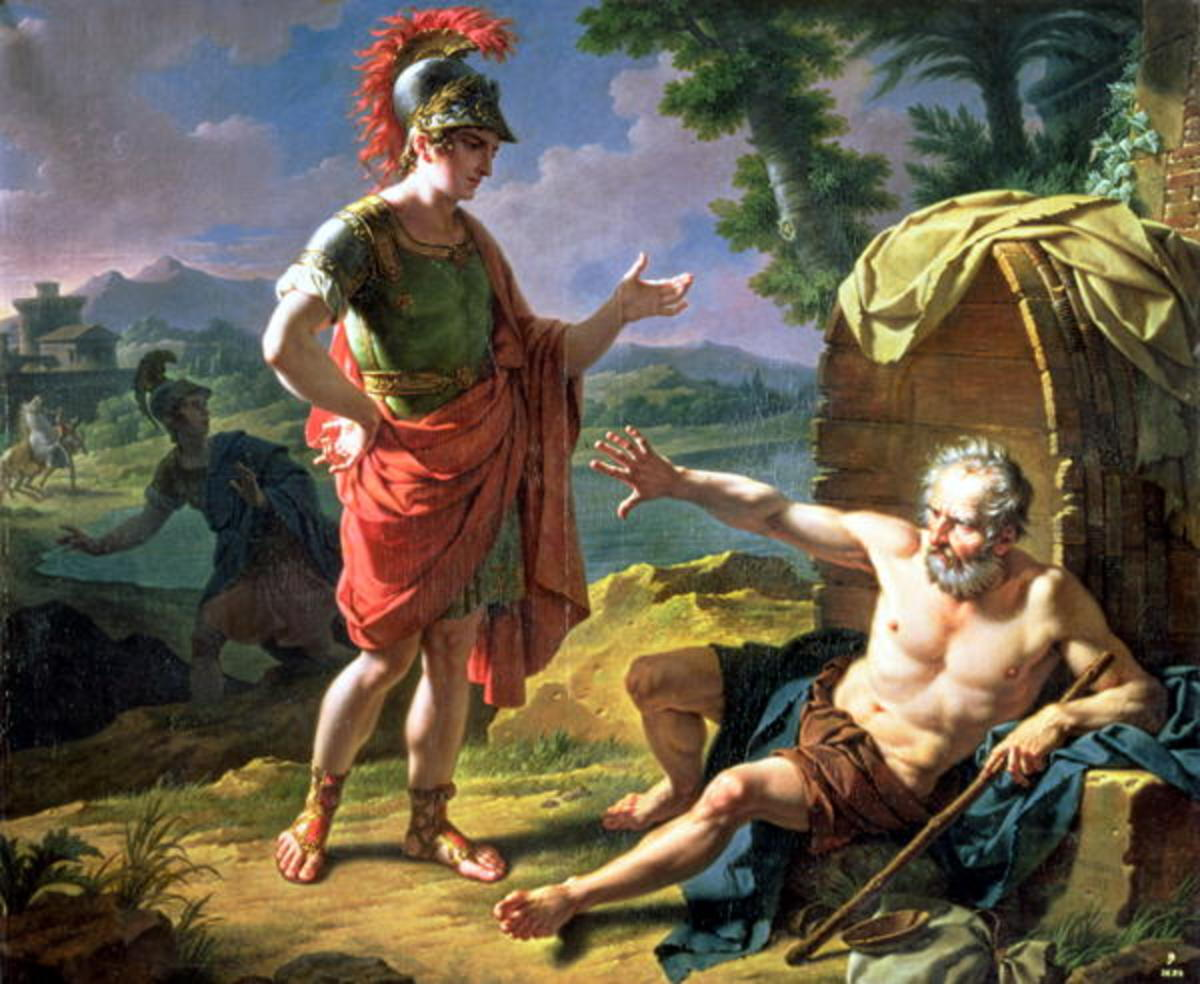 King Alexander and Diogenes