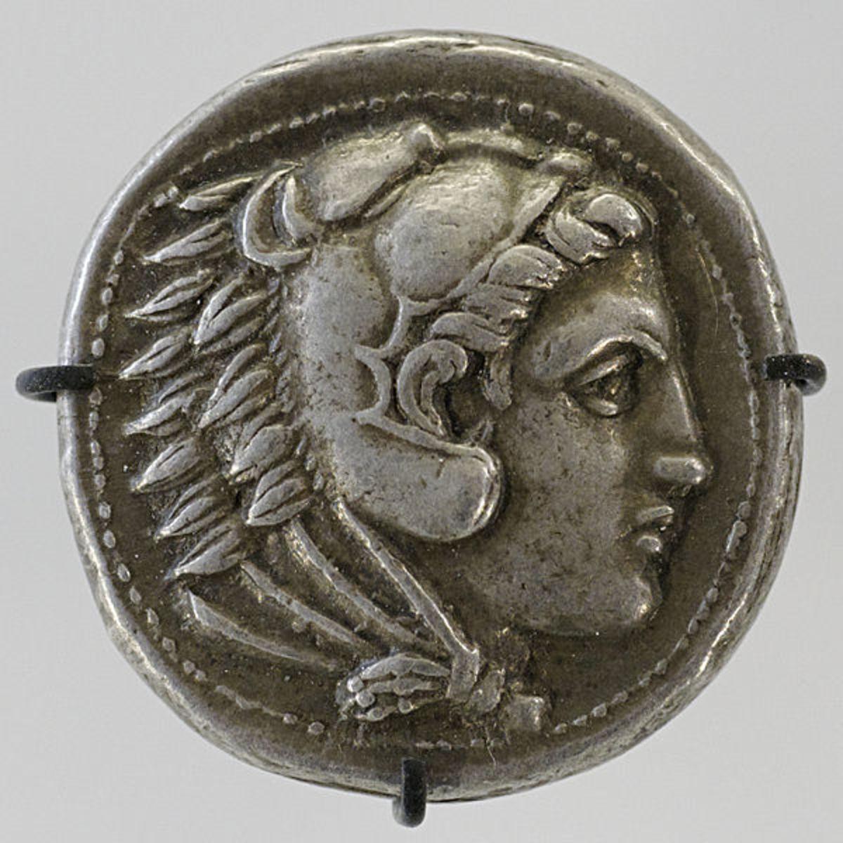 Tetradrachm with Alexander III King of Macedon