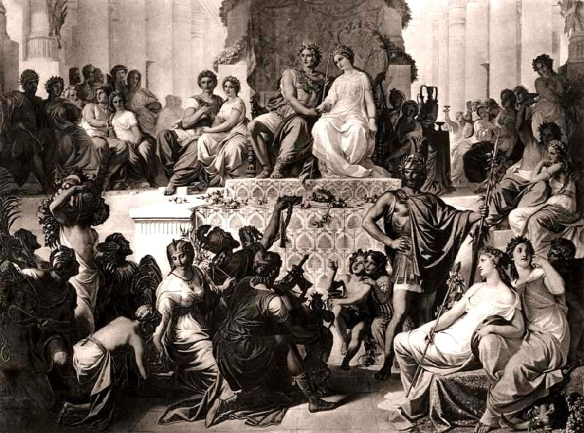 The Weddings at Susa Alexander and Hephaestion Marry Daughters of Darius III