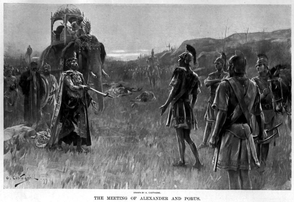 Porus Surrenders to Alexander