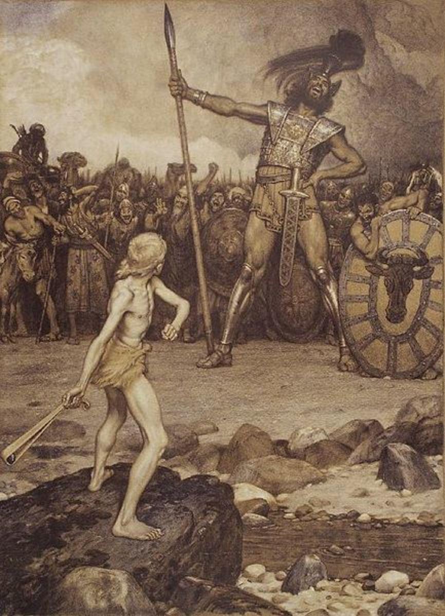 David meets Goliath