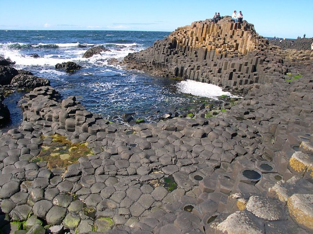 Giants Causeway in County Antrim, Ireland