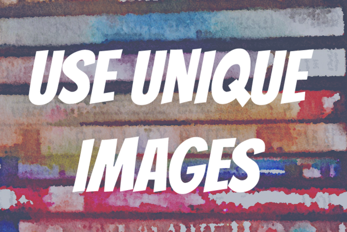 Use Unique Images