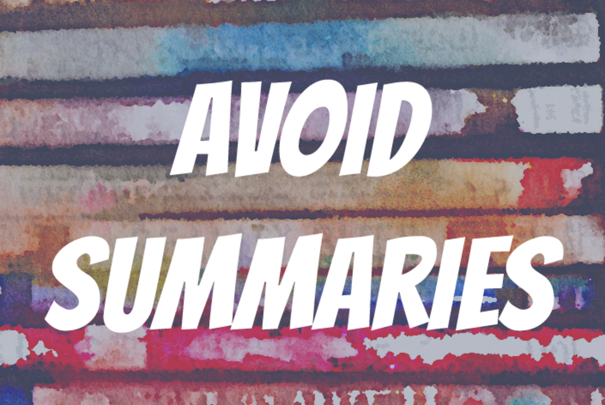 Avoid Summaries