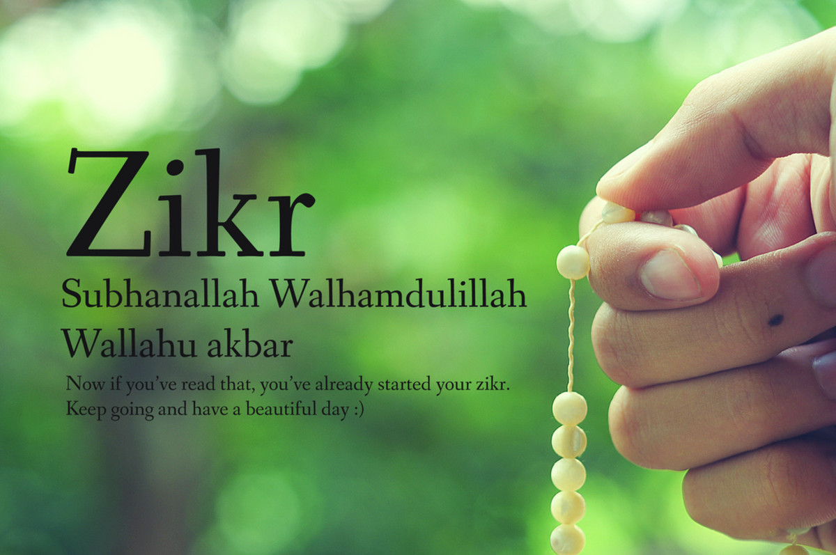 Zikr (or dhikr) translates to remembrance—itikaf is all about remembering Allah and raising your level of taqwa.