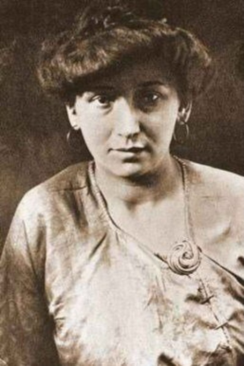 Fernande Olivier, Picasso's lover from 1904-1912