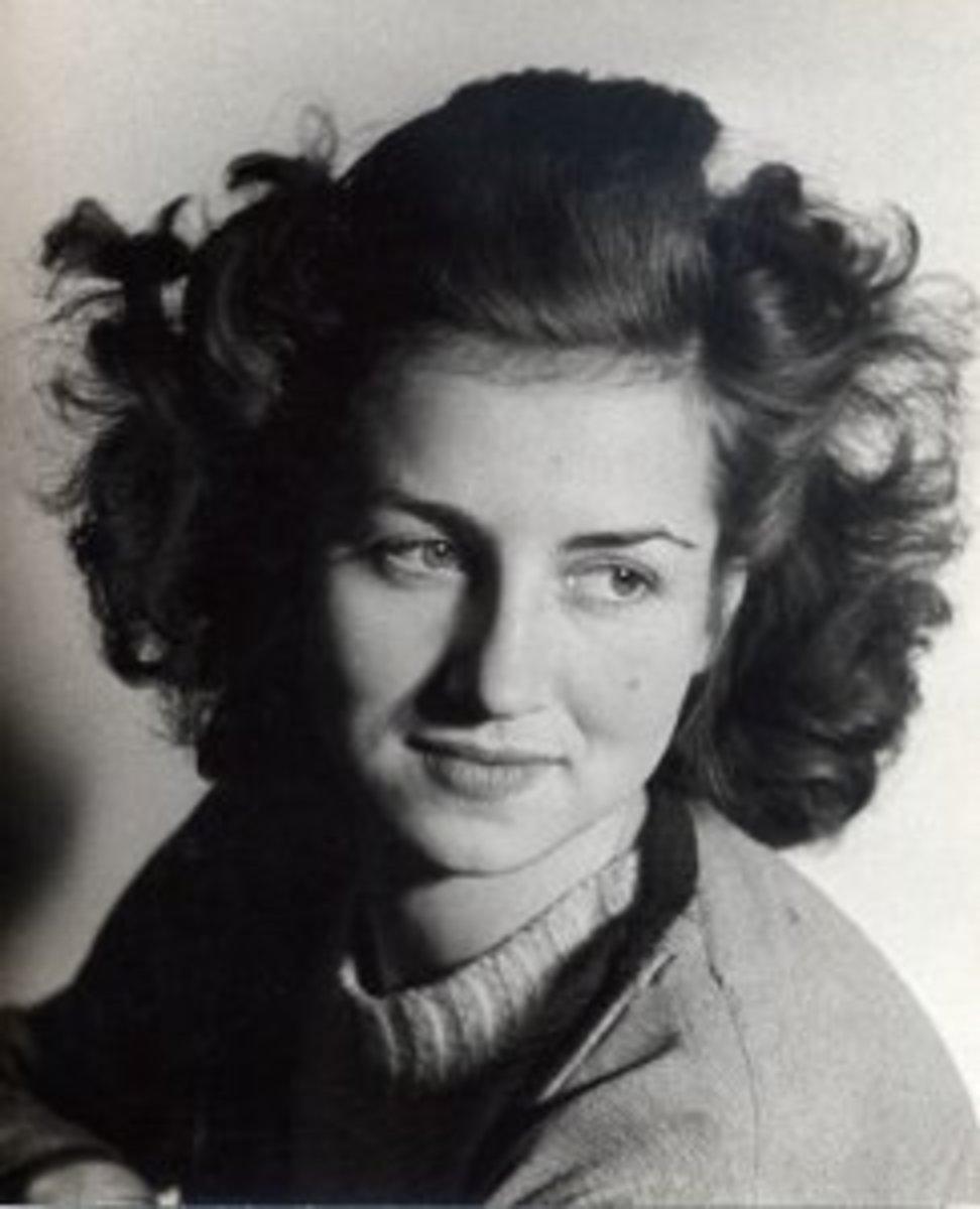 Françoise Gilot par Rozsda 1943. Paris
