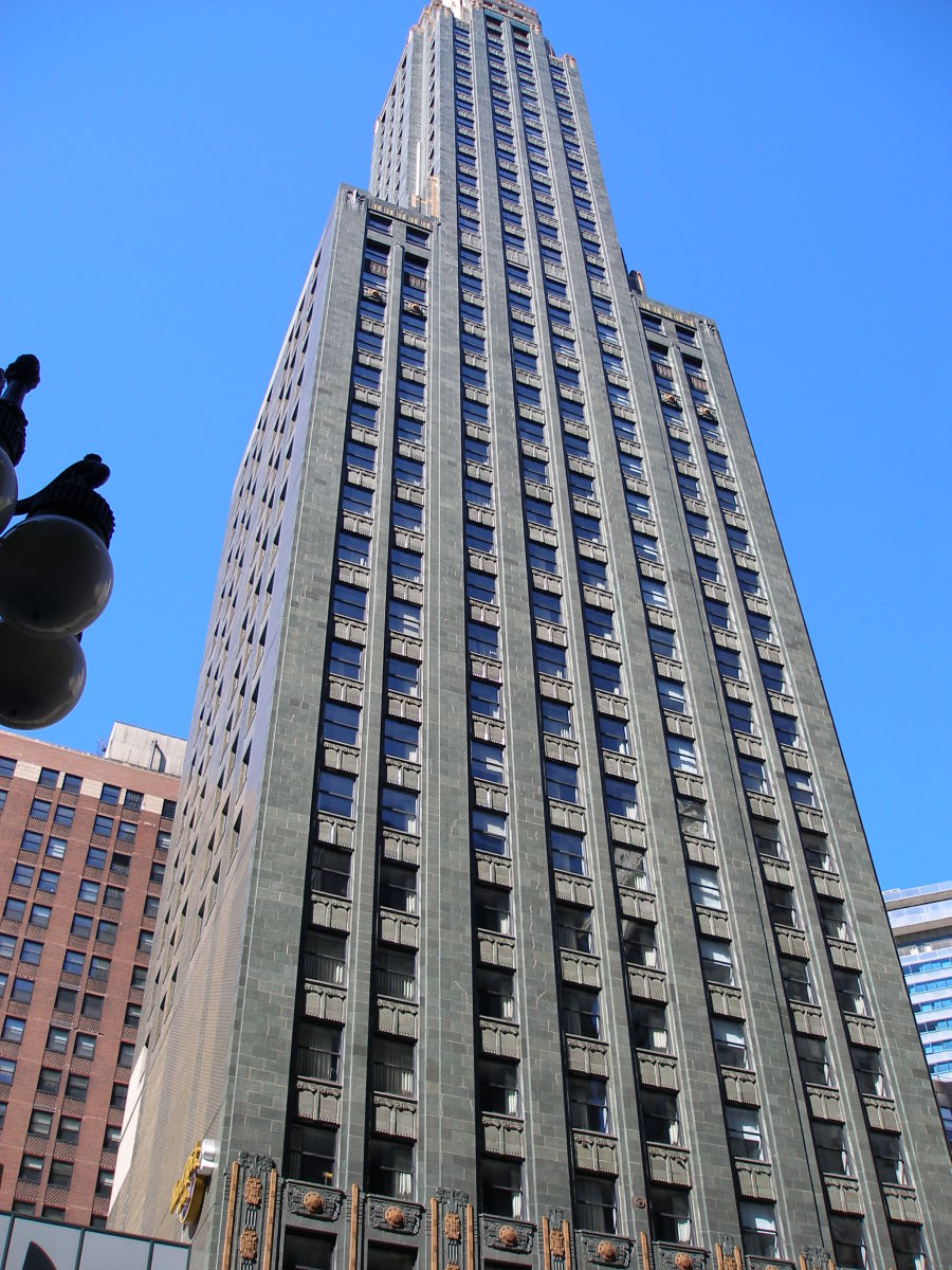 Carbide & Carbon Building Exterior