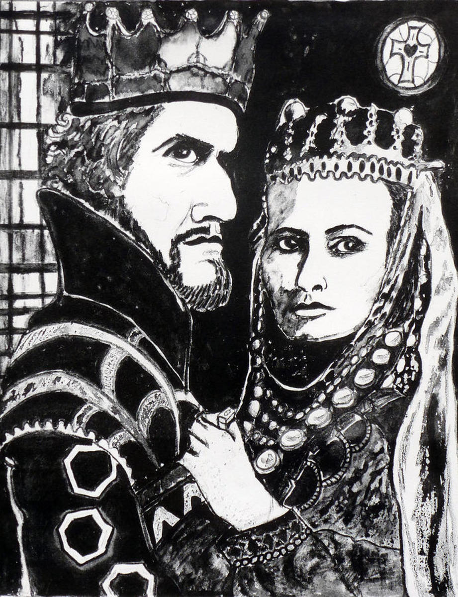 MacBeth and his wife, Lady MacBeth