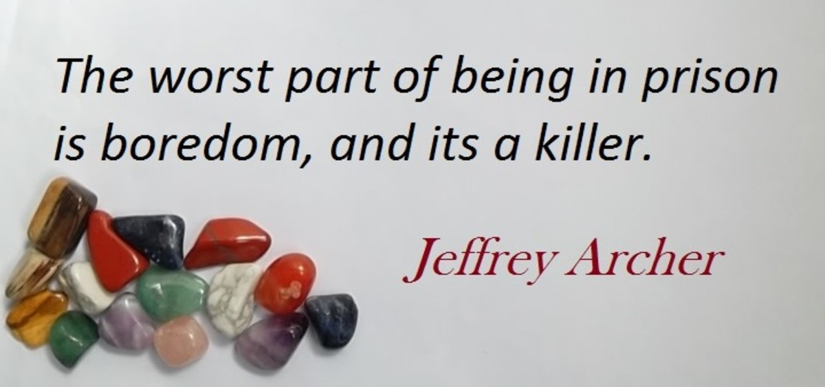 Jeffrey Howard Archer: born April 1940 was a disgraced British politician who while in prison became an author