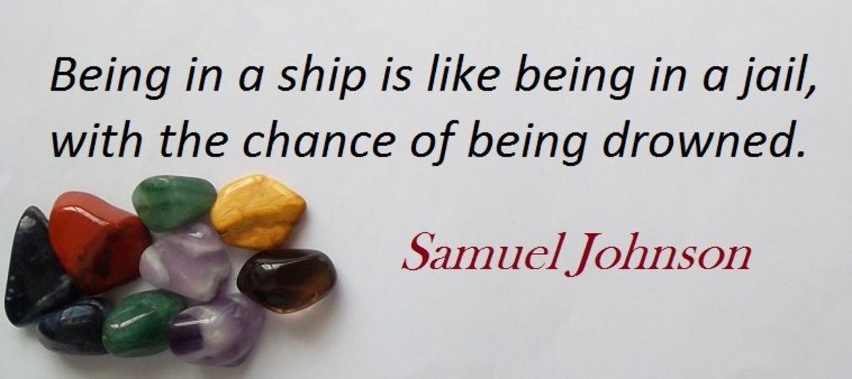Samuel Johnson: born September 1709 died December 1784 was a famous English author