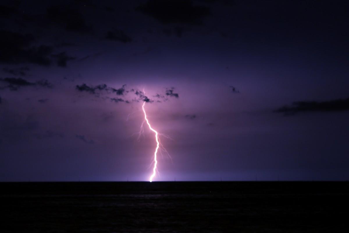 Catatumbo Lightning over Lake Maracaibo