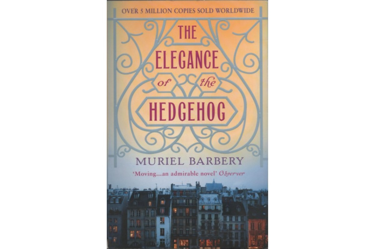 "Scanned book cover of ""The Elegance of the Hedgehog"" by Muriel Barbery"