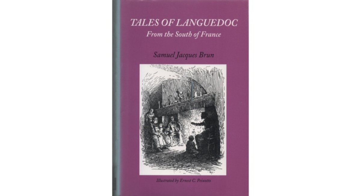 "Scan of the book, ""Tales of Languedoc"""