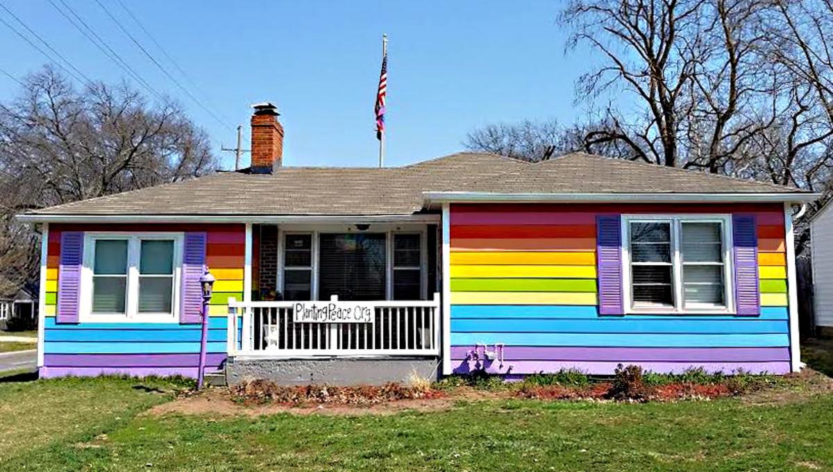 The Equality Rainbow House
