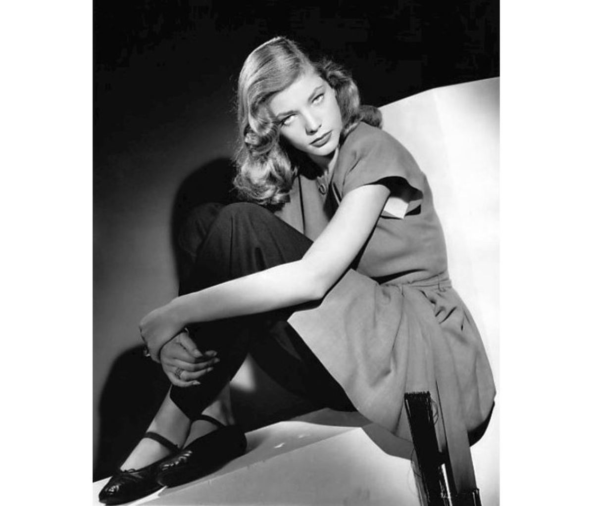 Stage Door Canteen volunteer Lauren Bacall