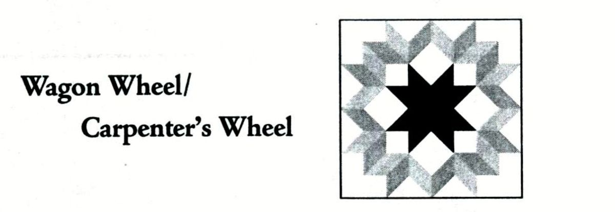 Wagon wheel quilt code