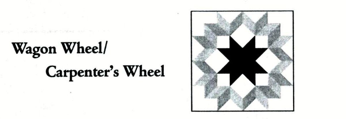 Wagon wheel quilt code
