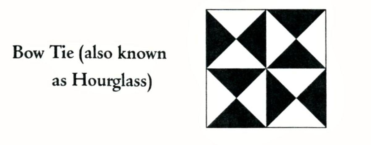 Bow Tie quilt code