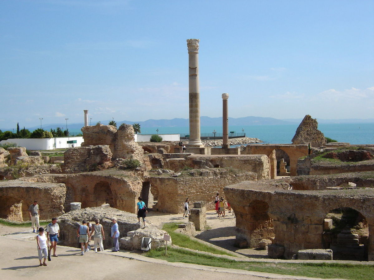 Carthage ruins today