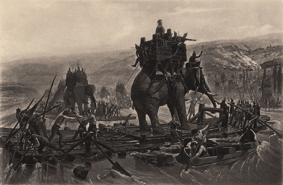 Hannibal's War Elephants