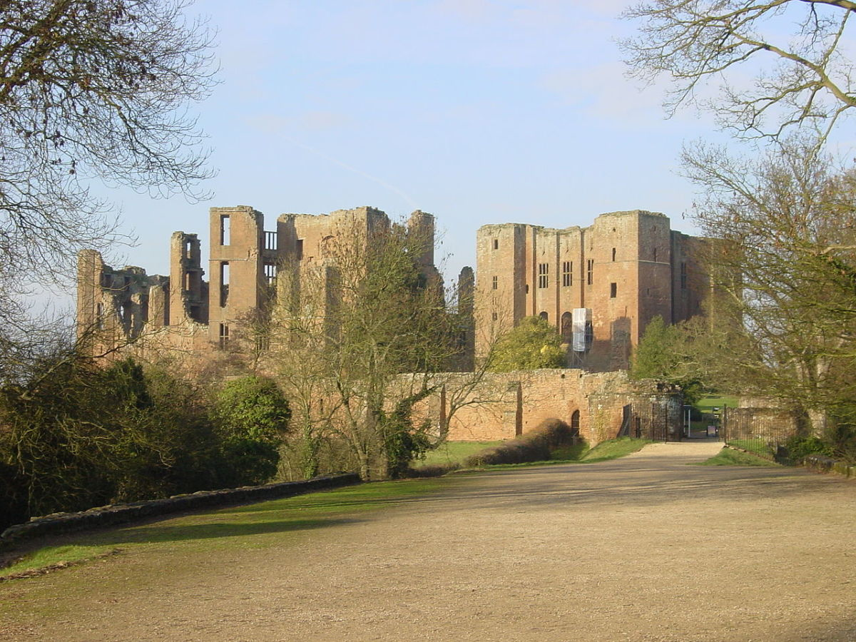 The ruins of Kenilworth.  All photos from Wikimedia Commons or own work.